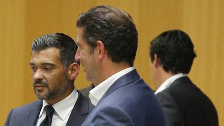 Seis internacionais já treinaram, Jiménez só chega quinta-feira — Benfica
