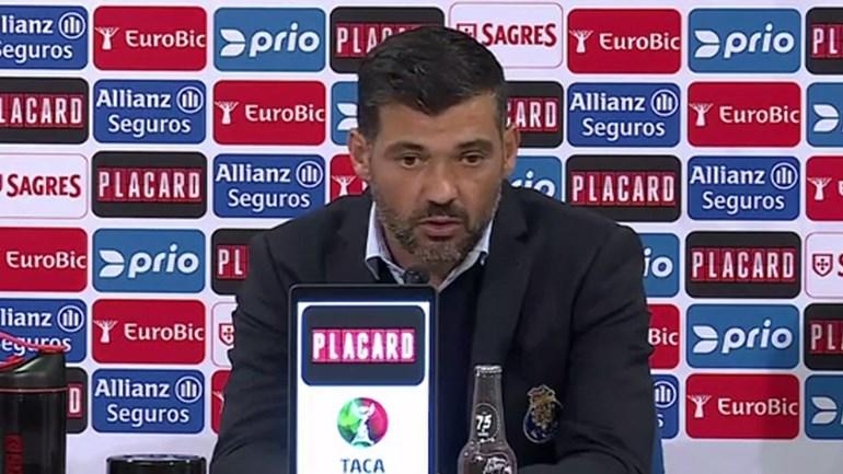 SérgioConceição:«Não estou aqui para ter o rótulo de treinador que vai lançar miúdos»