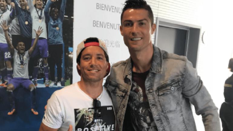 Antes de virem a Portugal, Medina visitou Neymar e Adriano de Souza foi conhecer Ronaldo