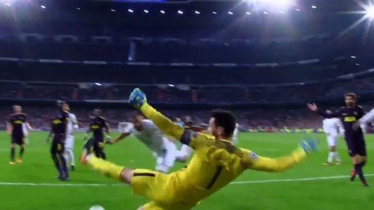 Zidane nem queria acreditar nesta defesa do outro mundo de Lloris