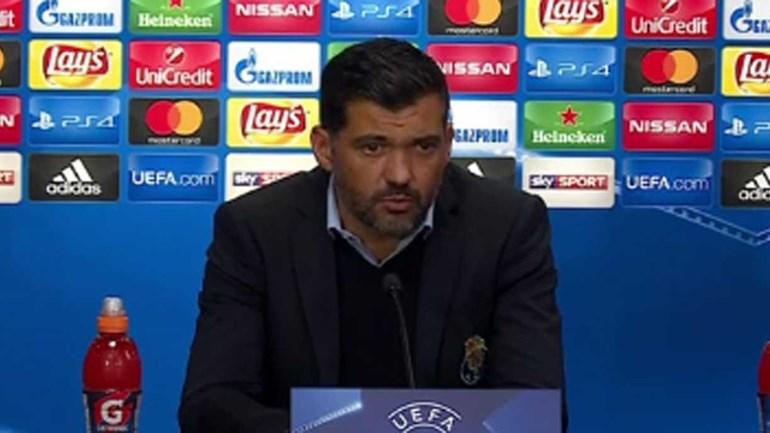 Sérgio Conceição e a opção por José Sá: «Se fizesse a equipa outra vez seria o mesmo onze»