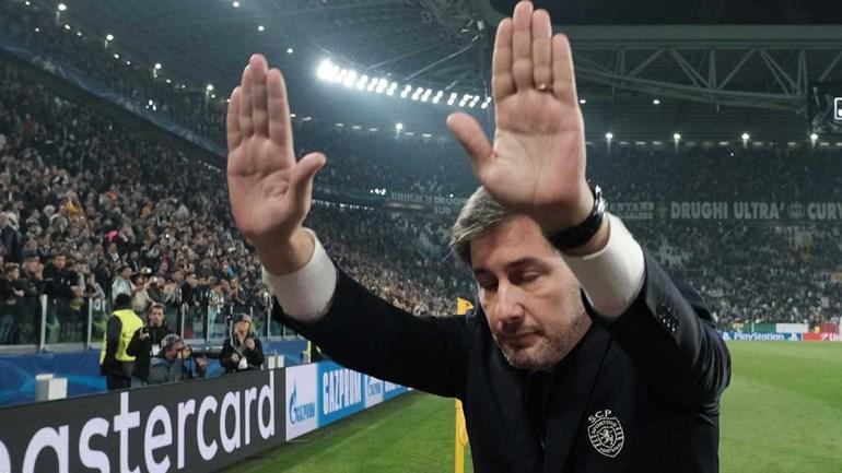 A vénia de Bruno de Carvalho aos adeptos do Sporting