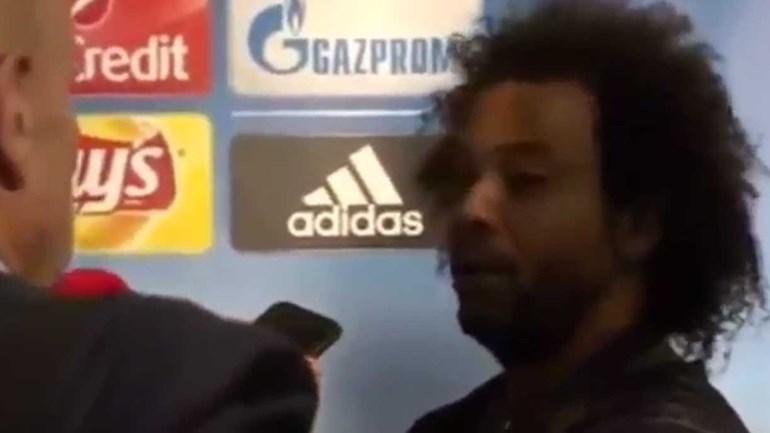Marcelo não gostou das perguntas dos jornalistas e até Ronaldo foi metido ao barulho