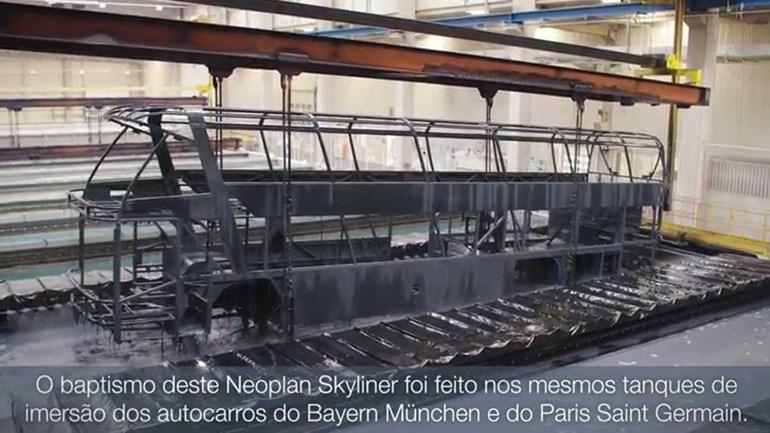 Saiba como foi construído o novo autocarro do FC Porto