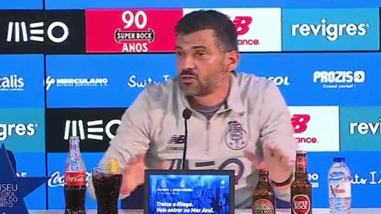 Sérgio Conceição explica situação de Iker Casillas