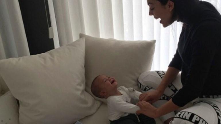 Georgina não resiste à doçura dos gémeos de Ronaldo