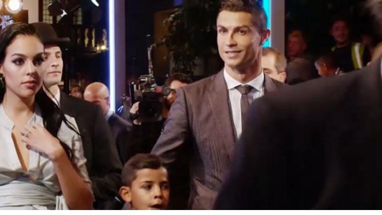 Cristiano Ronaldo, Messi e Neymar: o que escapou aos olhares antes da entrada na gala