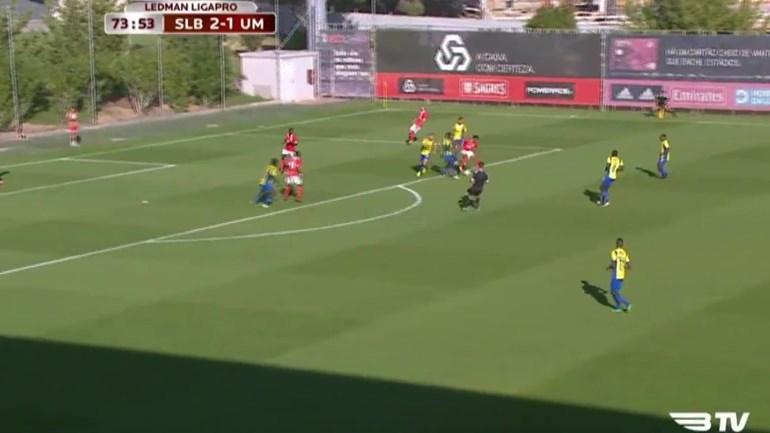 A finta espetacular de Willock pelo Benfica B