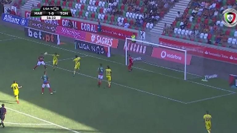 Ricardo Valente fez assim o segundo diante do Tondela