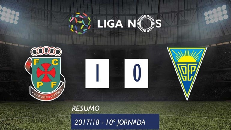 O resumo do P. Ferreira-Estoril (1-0)