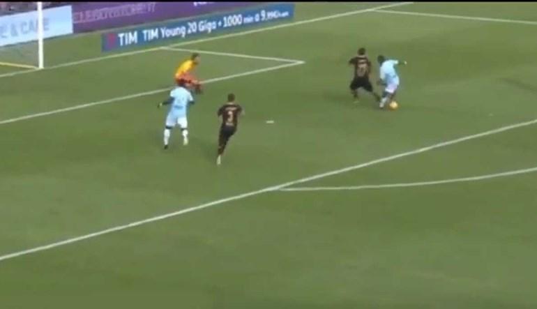 Nani em grande na Lazio: assistência e estreia a marcar