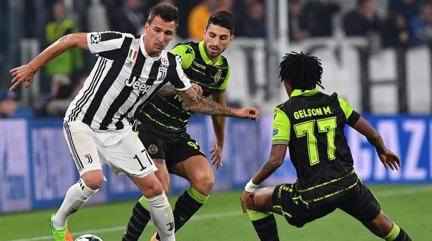 Juventus-Sporting, 1-1 (2.ª parte)