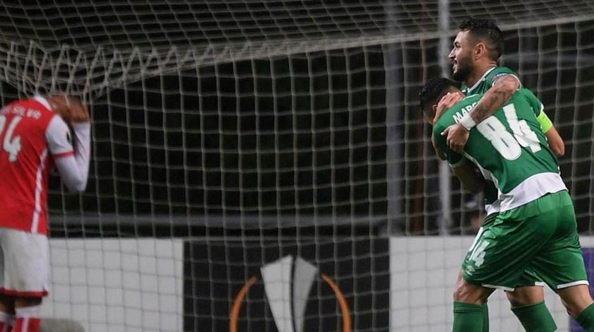 Sp. Braga-Ludogorets, 0-2