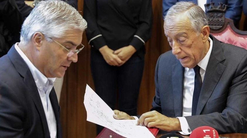 Incêndios: Marcelo saúda forma rápida como Conselho de Ministros tratou de tudo