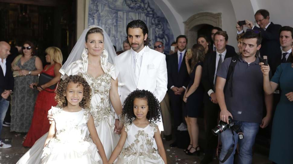 Luciana Abreu casa-se pela segunda vez
