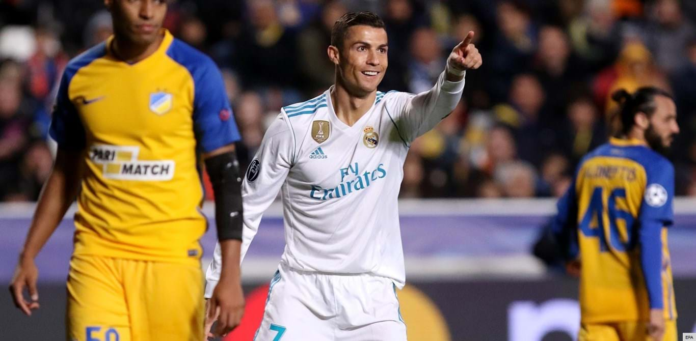 Ronaldo só vê Europa