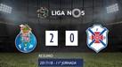 O resumo do FC Porto-Belenenses (2-0)