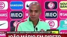 João Mário e a concorrência dos mais novos: «Temos de provar que merecemos cá estar»