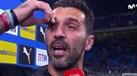 A emoção de Buffon no adeus à seleção italiana