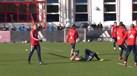 Robben tentou enganar colegas com uma simulação... mas ninguém acreditou