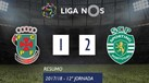 O resumo do P. Ferreira-Sporting (1-2)