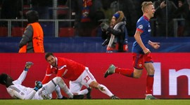 Benfica gelou em Moscovo