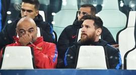 Messi num lugar pouco visto