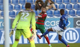 A crónica do Feirense-Marítimo, 0-1: Foi preciso suar o fato italiano