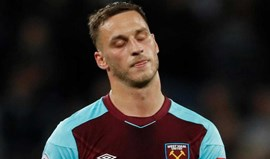 West Ham vai dispensar reforço mais caro de sempre... que contratou há quatro meses