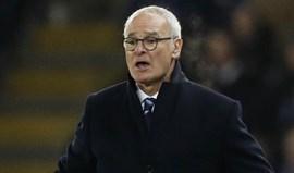 Ranieri e o jogo com o PSG: «Queria poder estacionar dois autocarros em frente à baliza»