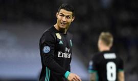 Ronaldo e as críticas: «O mais estranho é que isso se passa em minha casa»
