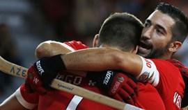 Benfica mantém-se invicto com triunfo frente ao Valongo
