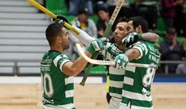Sporting goleia (7-1) Turquel e continua imparável