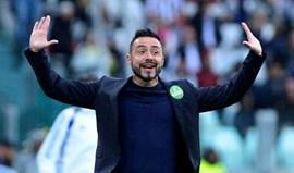 Há quem confie em De Zerbi, treinador do Benevento