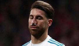 Assim está Sergio Ramos a recuperar da fratura do nariz: «Pouco a pouco»