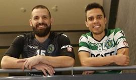 Marcão e Divanei confiantes em novo troféu: «Juntos, temos uma história bonita»