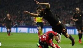 Grupo C: At. Madrid supera Roma e volta a sonhar