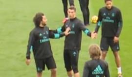 Ronaldo ficou a 'apanhar bonés' e reagiu assim