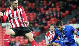 Athletic Bilbao cai na Taça do Rei aos pés do Formentera
