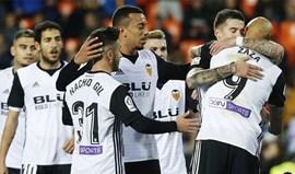 Valencia avança na Taça do Rei com golo de Rúben Vezo