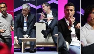 O dia em que a Web Summit foi dominada pelo futebol português