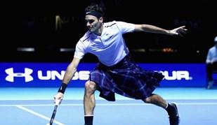 Federer bate Murray... de kilt