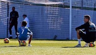 Ronaldo revela convidado especial no treino desta sexta-feira