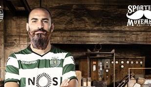 E se os jogadores do Sporting aderissem ao 'Movember'?