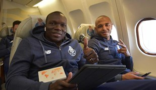 FC Porto otimista a caminho de Istambul