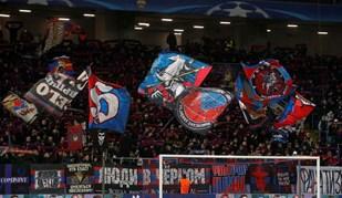 As melhores imagens do CSKA Moscovo-Benfica