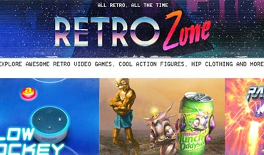 Amazon americana lança canal Retro Zone