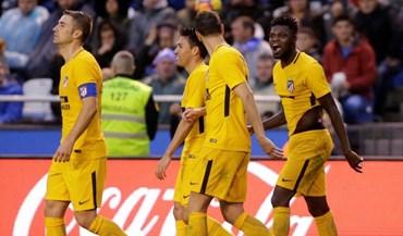 At. Madrid passa no Riazor com golo nos descontos
