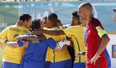 Taça Intercontinental: Portugal perde com o Brasil na final