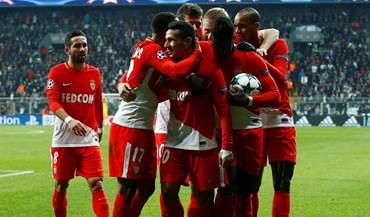 Monaco 'despacha' Guingamp com meia dúzia de golos